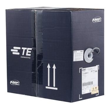 限移动端:AMP 安普 超五类双绞网线(蓝箱 305米)+凑单品