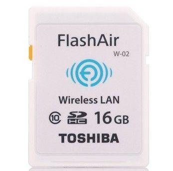 TOSHIBA 东芝 16G FlashAir SDHC存储卡(Class10)